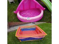 Ball and paddling pool