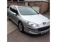 2006/56 Peugeot 407 sw se diesel estate full loaded