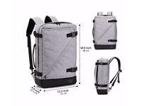 Laptop Briefcase Backpack 3 Way Convertible Shoulder Messenger Bag Business Rucksack 15.6 Inch