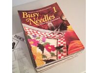 Vintage Busy Needles Magazine (Job Lot)