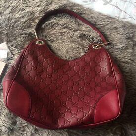 Genuine red Gucci handbag
