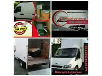 Man and Van exclusive deals&prices