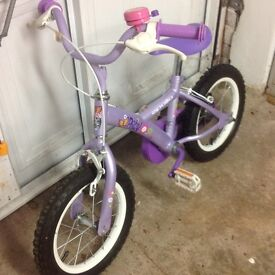 Young Girls Bicycle. Excellent Condition