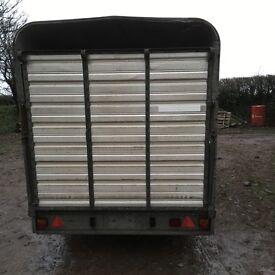 Ifor Williams livestock trailer 12 foot