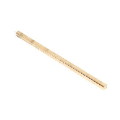 6mm Dia 410cm Length Solid Brass Round Rod Bar