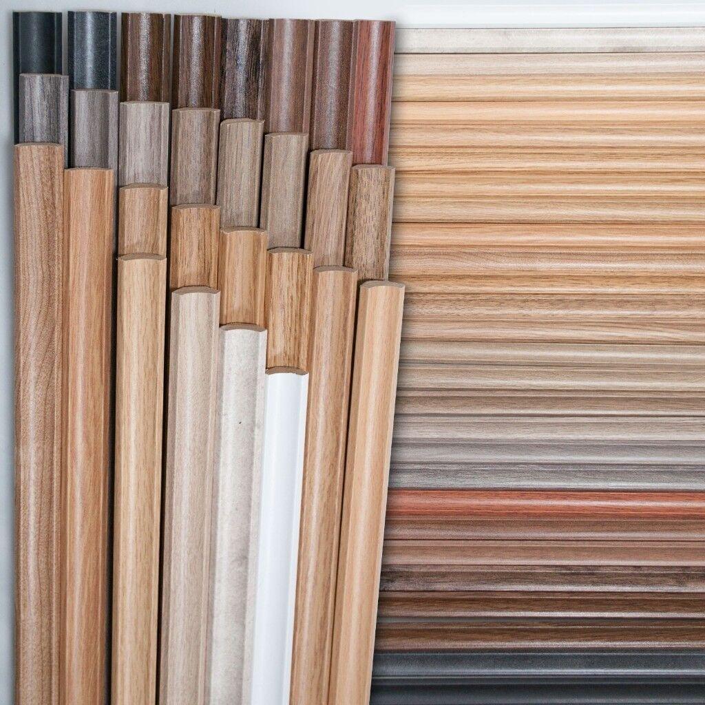 Scotia Beading For Laminate Flooring Various Colours 2 4m Length 4 Each
