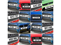 NI Dateless Personalised Number Plate Audi BMW Volvo Ford Evo Subaru Honda Toyota Kia GTI M3 RS