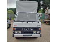 Left hand drive Toyota Dyna 150 3.5 Ton tilt truck. MOT till March 2017.