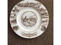 Coalport collectable Shropshire Plate . Ironbridge China works