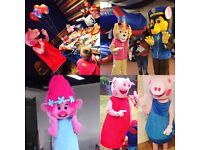 Mascots. Entertainment. Children's party's. Events. Party planning.