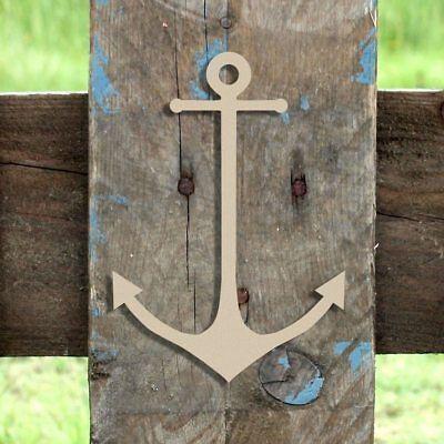 Wood Anchor Shape, Unfinished Anchor Shape, Wooden Anchor Cutout, Paintable](Unfinished Wooden Anchor)