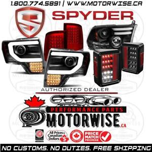 5% OFF Spyder Automotive Lighting | Headlights | Tail Lights & More | Free Shipping | Order at www.motorwise.ca