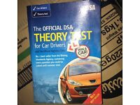Driving theory test book for sale