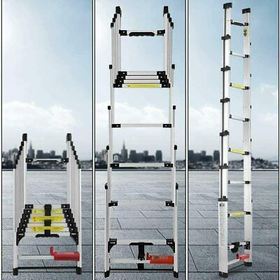2.8Meter Heavy Duty Telescopic Ladder Multifunction Extendable And Multi-Purpose