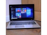 Toshiba Satellite L50T 15.6 Gaming Laptop Core i7 Radeon R7 1TB 8GB Touchscreen