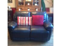 leather 2 piece and single arm chair