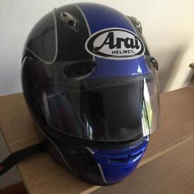ARAI MOTORCYLE HELMET SIZE MEDIUM £45