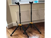 Two Strong Hercules Guitar stands