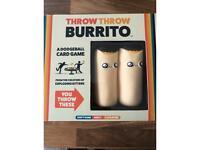 Burrito throwing game