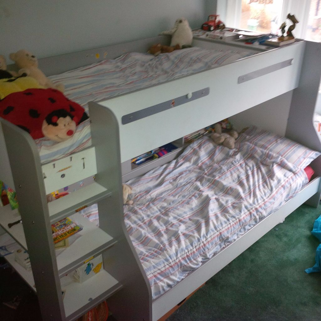Bunk Bed Offset REDUCED TO SELL Parisot EMax Years Old - Parisot bedroom furniture