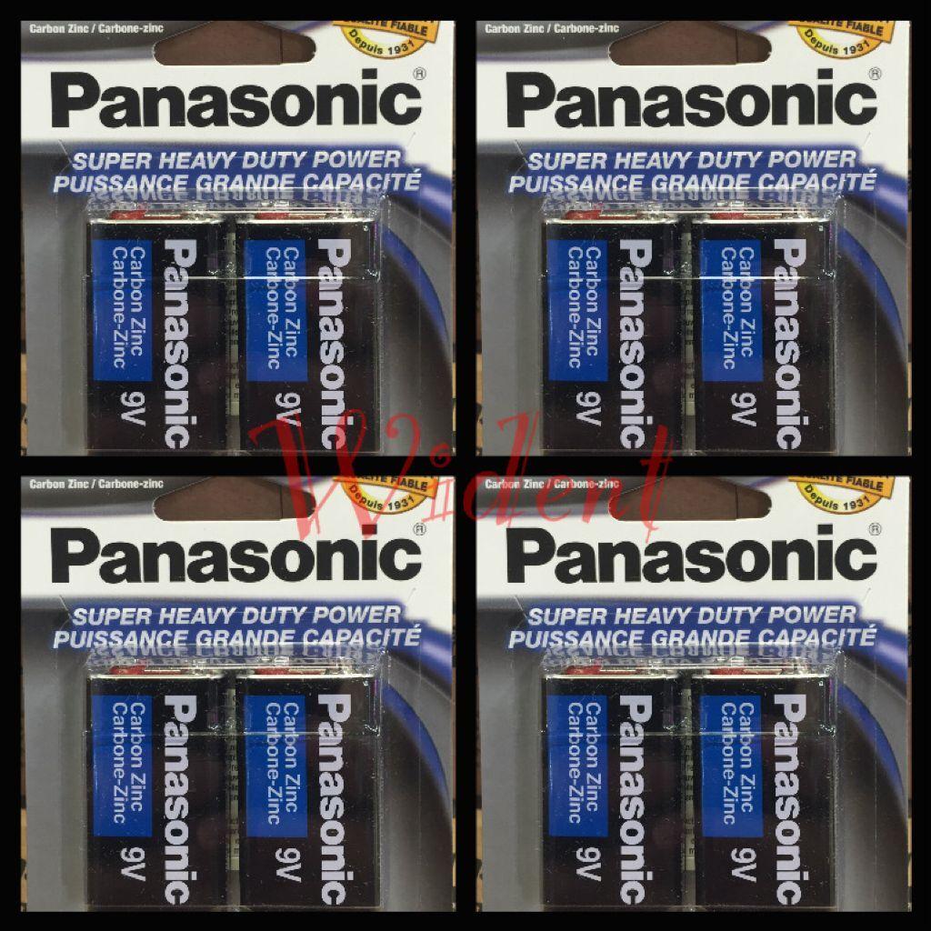 Panasonic S-006PNPA Super Heavy Duty 9 V Battery - Pack of 2