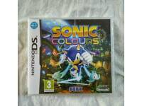 Nintendo DS Sonic Colours brand new not opened £10 ONO