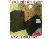 Girls Bundle Age 5 to 6 years