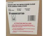Brand new shower door in original packaging. RRP £209. On offer for £100.
