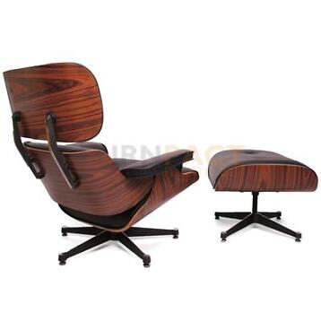 Eames Lounge Chair set inclusief ottoman € 799,95