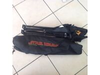 Star Wars folding chair with carrying case excellent condition