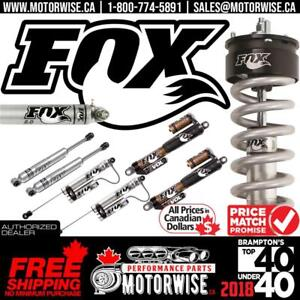 FOX Shocks & Suspension | Steering Dampers | Free Fast Shipping Canada Wide | Order Today at www.motorwise.ca