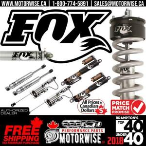 5% OFF FOX Shocks & Suspension | Steering Dampers | Free Fast Shipping Canada Wide | Order Today at www.motorwise.ca