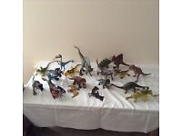 Mixed bag of dinosaurs and lizards