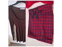 Ladies clothes bundle (sizes 8-10) Zara,Monsoon,Mango,Joules,Benetton,Whistles,Next,Morgan,H&M