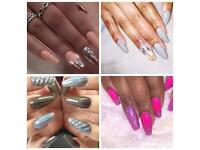 Luxurious acrylic nails, shellac nails and gel nails right to your doorstep! @finessenails_london