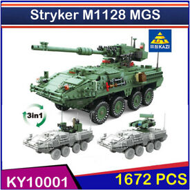 Stryker M1128 MGS 1672 pcs. Building Blocks Toys,