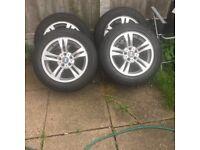 4x BMW X3 17inch alloys wheels