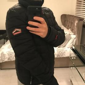 Superdry triple zip puffer jacket (Size - Medium)