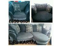 DFS Karma 3 piece suite