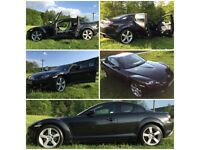 Mazda Rx8 / Rx-8 Kuro 2007 - Limited Edition (Not Bmw Audi Mercedes Vauxhall VW) Great Maintained !!