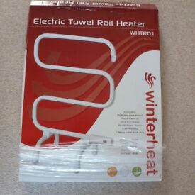 New Free Standing Electric Towel Rail Heater 80 W