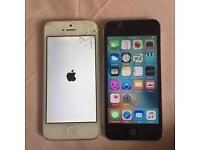 Broken iPhone 5 and working iPod 5 £50