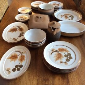 Denby Cotswold Dinnerware - 27 Various Pieces, Excellent Condition