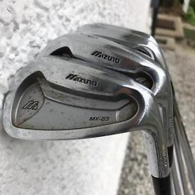 Muzuno MX23 irons