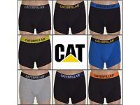 Caterpillar Deluxe Mens Boxer Shorts / Trunks Assorted 6 Pack