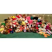 LOT of 96 TY Beanie Babies Collectibles - 250 OBO