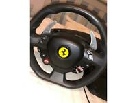 Thrustmaster Ferrari 488 gtb PS4/PS5 steering wheel -Perfect condition