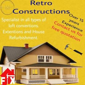 🏗Special offer price on loft/extensions/new build /refurb/painting/deco
