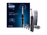 New in Box Oral-B Smart Series 6500 Electric Rechargeable Toothbrush - Black