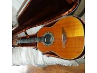 1972 rare ovation 12 string pacemaker guitar